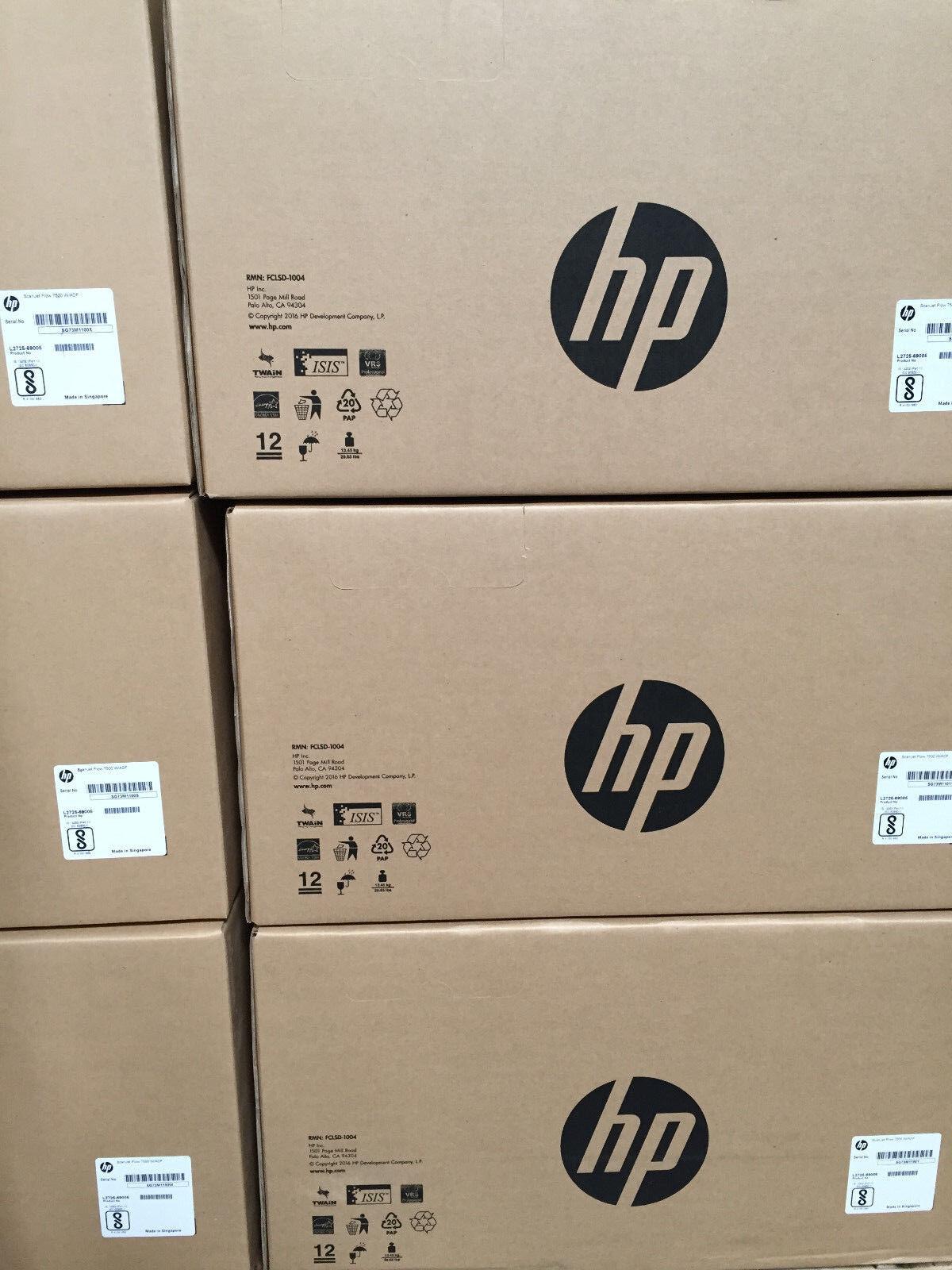 Hp Scanjet Enterprise Flow 7500 Adf Flatbed Usb Scanner L2725 64002 For Sale Online Ebay