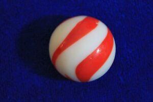 Orange White Glass Swirl Gear Shift Knob Handle Accessory Manual Floor Shift