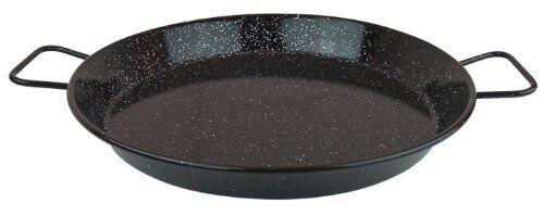 Enameled On Steel 17  Paella Pan (8-10 Servings)