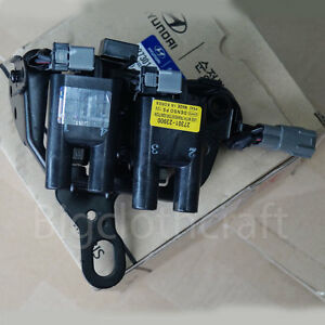 Image is loading New-OEM-27301-23900-Ignition-Coil-for-Hyundai-