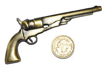 American Civil War Miniature All Metal Model Colt Navy 4 Inches 10cm Length New