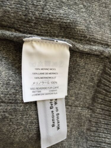 stripe Grey H4530 New 110 Madewell Large Fringe Størrelse Sweater Pullover L wRtpxHq
