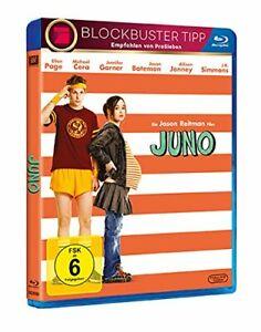 Juno-Blu-ray-NEU-OVP-Ellen-Page-in-ungeplanter-Schwangerschaft