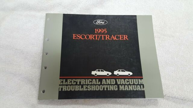 1995 Ford Escort Mercury Tracer Wiring Diagram Manual