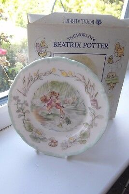 Royal Albert Jeremy Fisher Side Plate Teatime Collection Boxed 1st Quality
