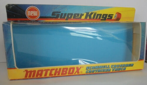 Repro box Matchbox superkings k-17 scammel Crusader contenedores Truck