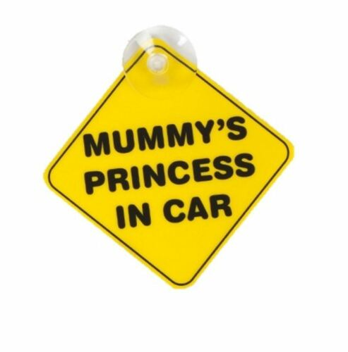 Child baby on board safety care signs little dude diva 2 signs