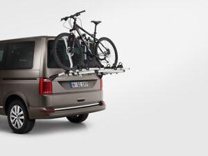 neu original volkswagen fahrradtr ger max 4 fahrr der t6. Black Bedroom Furniture Sets. Home Design Ideas