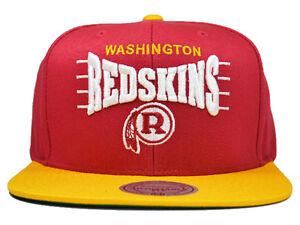 4c3585d9a7f Image is loading Washington-Redskins-ZONE-SQUEEZE-SNAPBACK-Mitchell-amp-Ness -