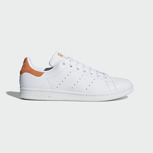 Women Adidas CQ2207 Stan Smith Running Running Running shoes white orange sneakers 221eac