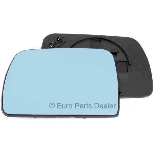Außenspiegel Blaues Glas für BMW X5 00-06 Links Beifahrerseite Beheizt E53