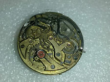 19 size Minerva caliber 19/ch 9/ch  chronograph pocket watch movement for parts