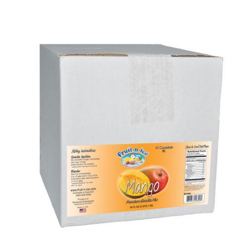 Fruit-N-Ice Frozen Drink Mango Granita Mix CASE OF 6 FREE SHIPPING