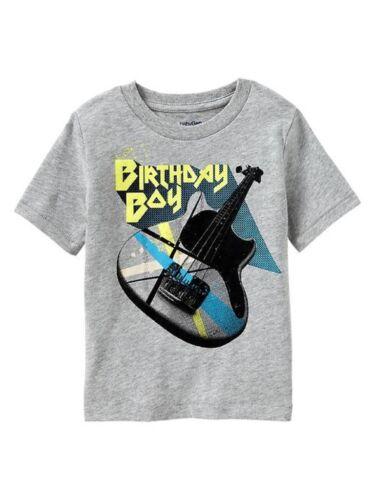 Boys BABY GAP Birthday Boy Guitar T-SHIRT//TOP Sz 18-24 Mos NWT ~ Happy B/'Day