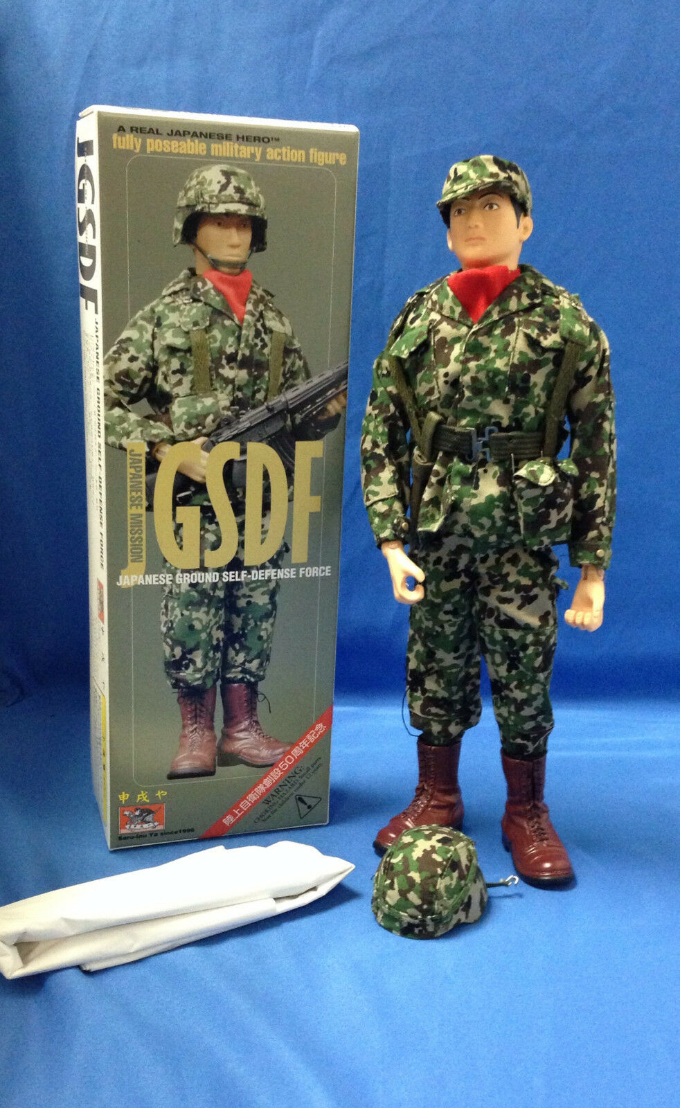 RARE NEW 1999 Saru-Inu Ya 1 6 Japanese Ground Self Defense Force Figure GJ JOE