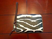 Stella & Dot Zebra Print Wallet