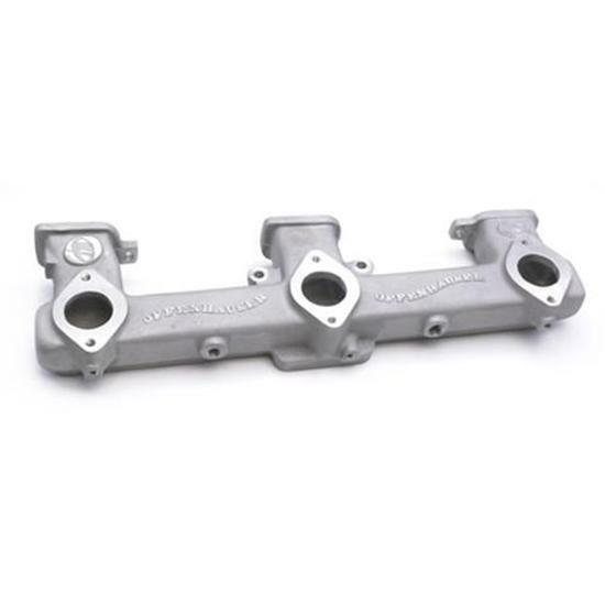 Offenhauser Triple Carb Intake Manifold Chevy Inline 194 230 250 292 Straight-6