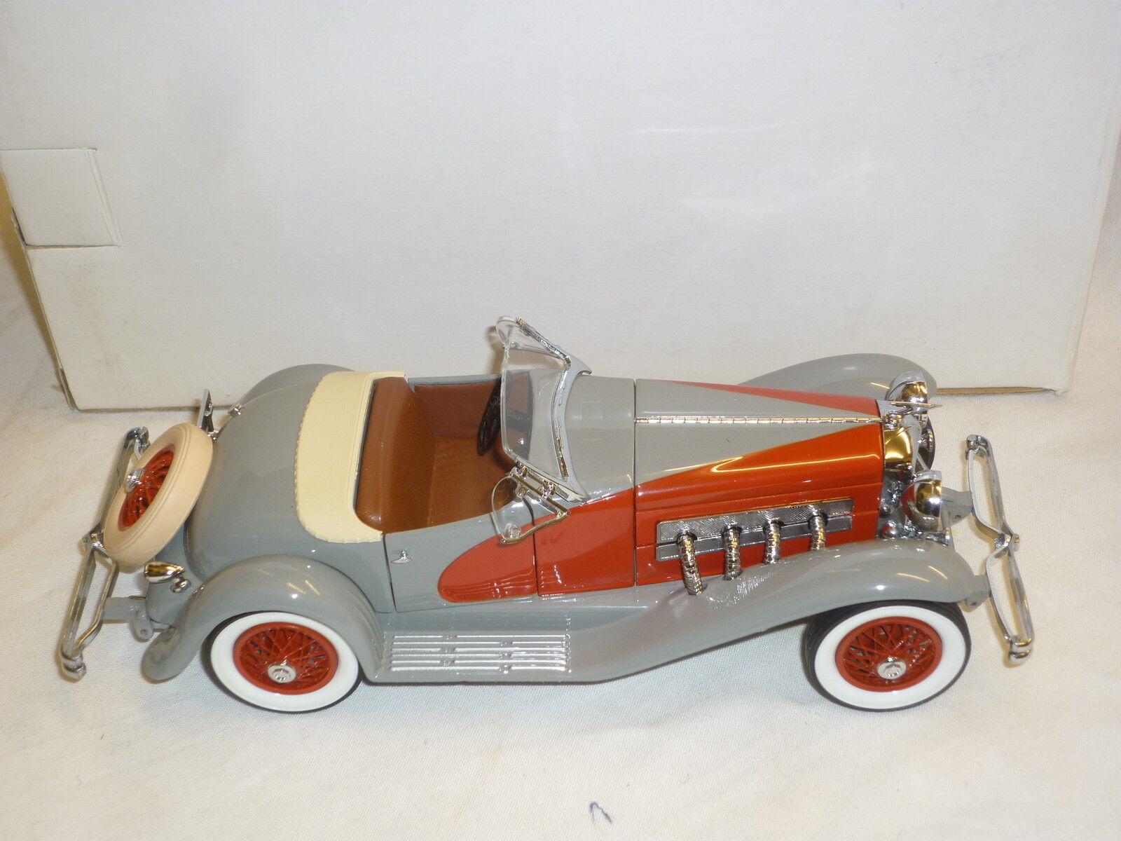 Un Danbury Comme neuf scale model of a 1935 Dusenberg SSJ Boxed | Dans De Nombreux Styles