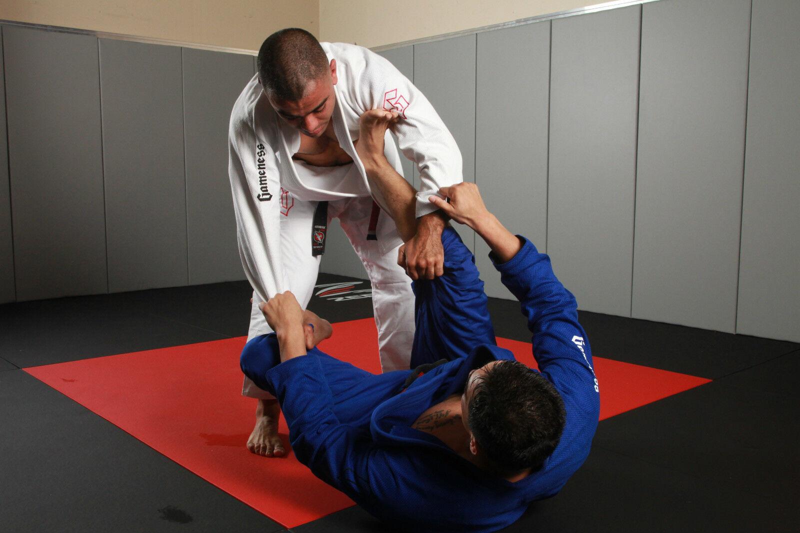 Gameness Air Kids BJJ GI Blue G1302 Kimono Uniform Brazilian Jiu Jitsu