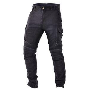Parts & Accessories Trilobite Acid Scrambler Schwarz Herren Motorradhose Jeanshose Länge 32 Aramid