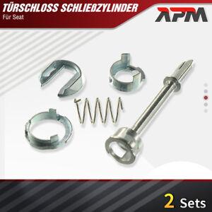 2x Schließzylinder Reparatursatz Seat Cordoba 6L2 Ibiza 3 6L1 VW Caddy 2 9U7 9K9