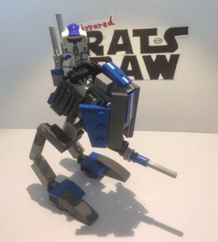 AT-RT Lego Star Wars minifigures Clone Custom 501st ARF Trooper