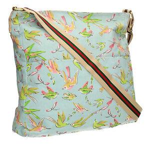 Image is loading New-Bird-Dragonfly-Womens-School-Satchel-Bag-Messenger- 4d47cb441b