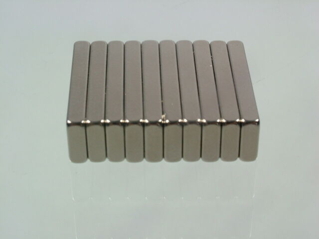 10pcs/lot  25*8*3mm N52 Neodymium block permanent super strong Magnets craft