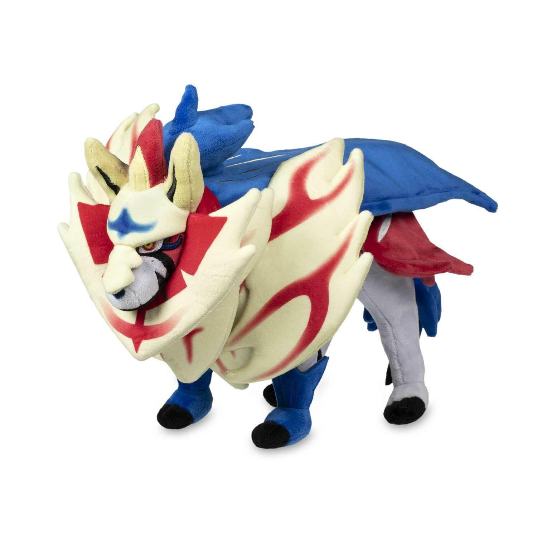 2019 New Legendary Pokémon Center Original Zamazenta Poké Plush - 16 In.