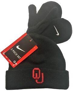 Image is loading NCAA-Oklahoma-University-Sooners-Black-Beanie-Winter-Hat- 1a610fa69430