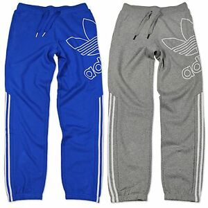 adidas originals big trefoil men 39 s fleece jogging pants. Black Bedroom Furniture Sets. Home Design Ideas