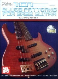 Larry-McCabe-101-Blues-Patterns-Bass-Noten-Tab-mit-CD