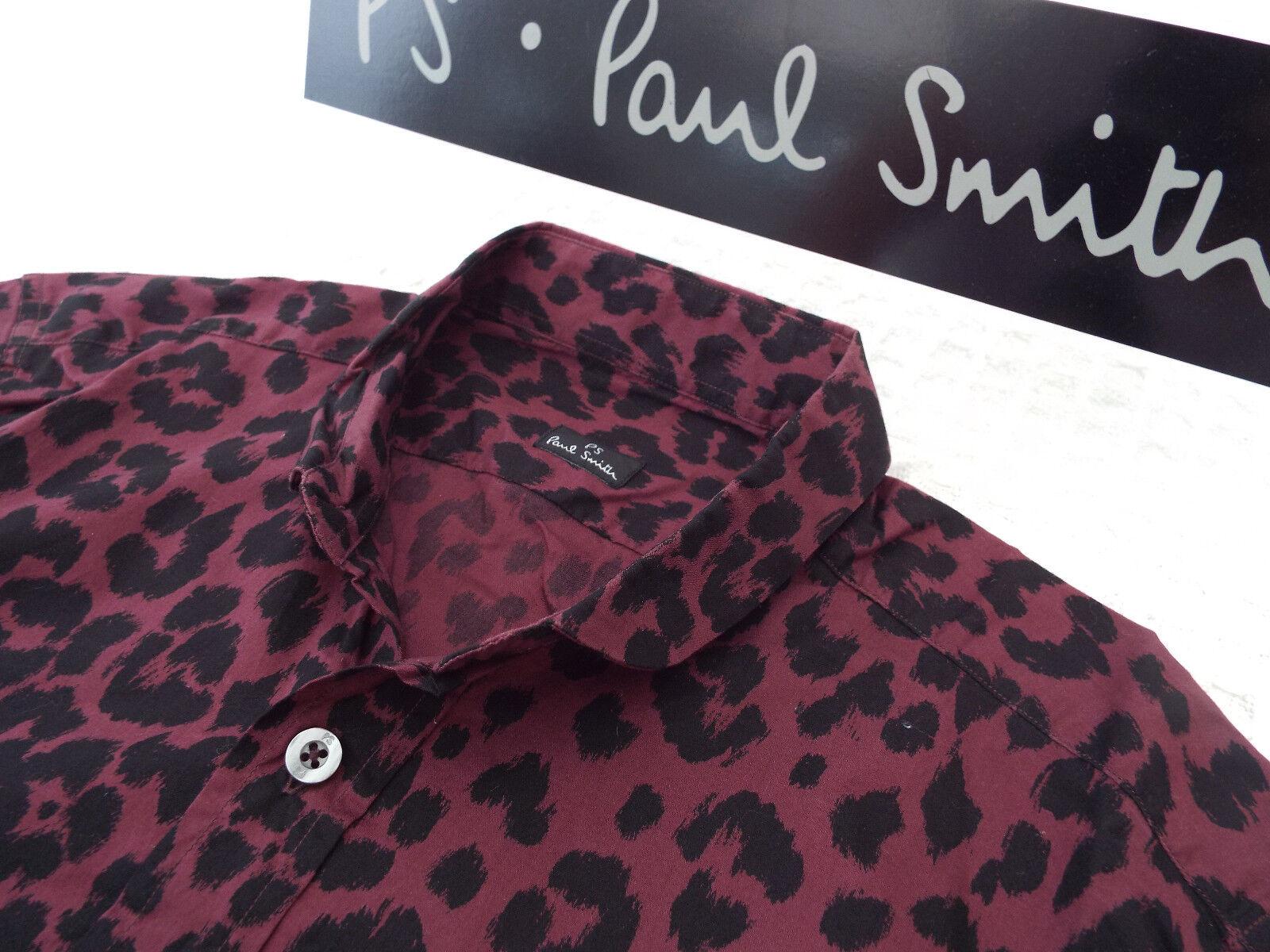 596d6a4eb0 Paul Smith Da Uomo Camicia taglia S (circonferenza (circonferenza ...