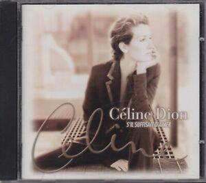 Celine Dion cd S' il suffiasait d' aimer