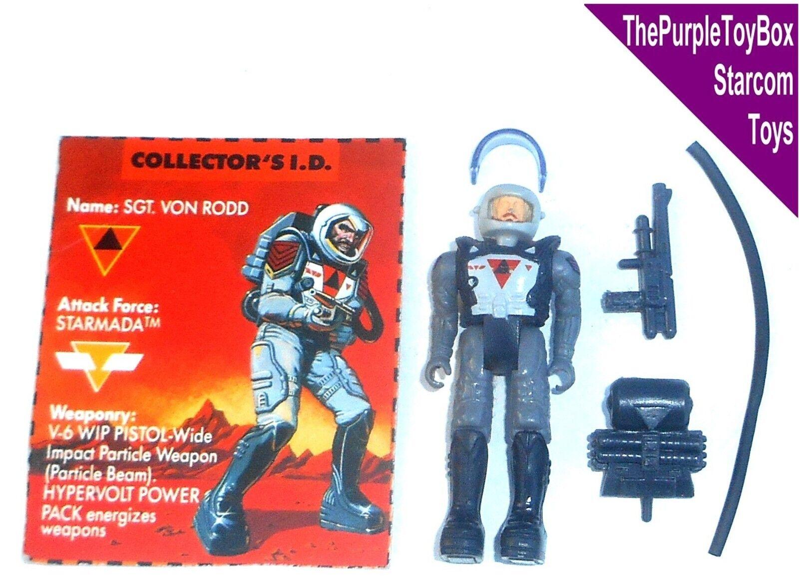 (C051) vintage anni 1980 Starcom GIOCATTOLI  IL SERGENTE Von Von SERGENTE Rodd  STARMADA 875b66