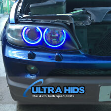 BLUE LED Angel Eye Marker Xenon For BMW E39 E53 E60 E61 E63 X5 5 Series