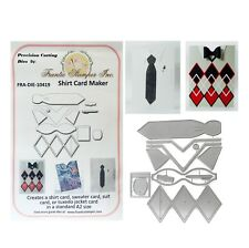 Shirt Card Maker Metal Die Cut Frantic Stamper Cutting Dies Dad Man Bow Tie