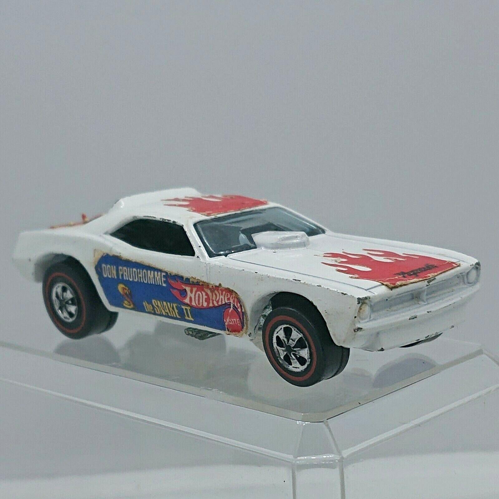 1971 Hot Wheels Serpiente II bianca rossoline USA hw1174