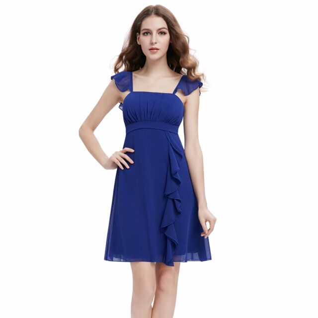 Ever-Pretty Short Bridesmaid Dress Evening Cocktail Party Prom Ball Gown 03337