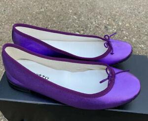 Repetto Camille Patent Pump 37.5 Purple