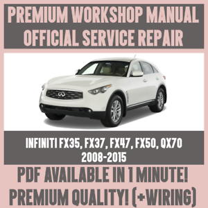 image is loading workshop-manual-service-amp-repair-for-infiniti-fx35-