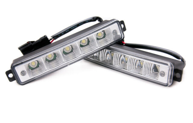 5 LED X-Treme de Alto Voltaje 15cm DRL Luces Lámparas Auto Switch E4 para Toyota