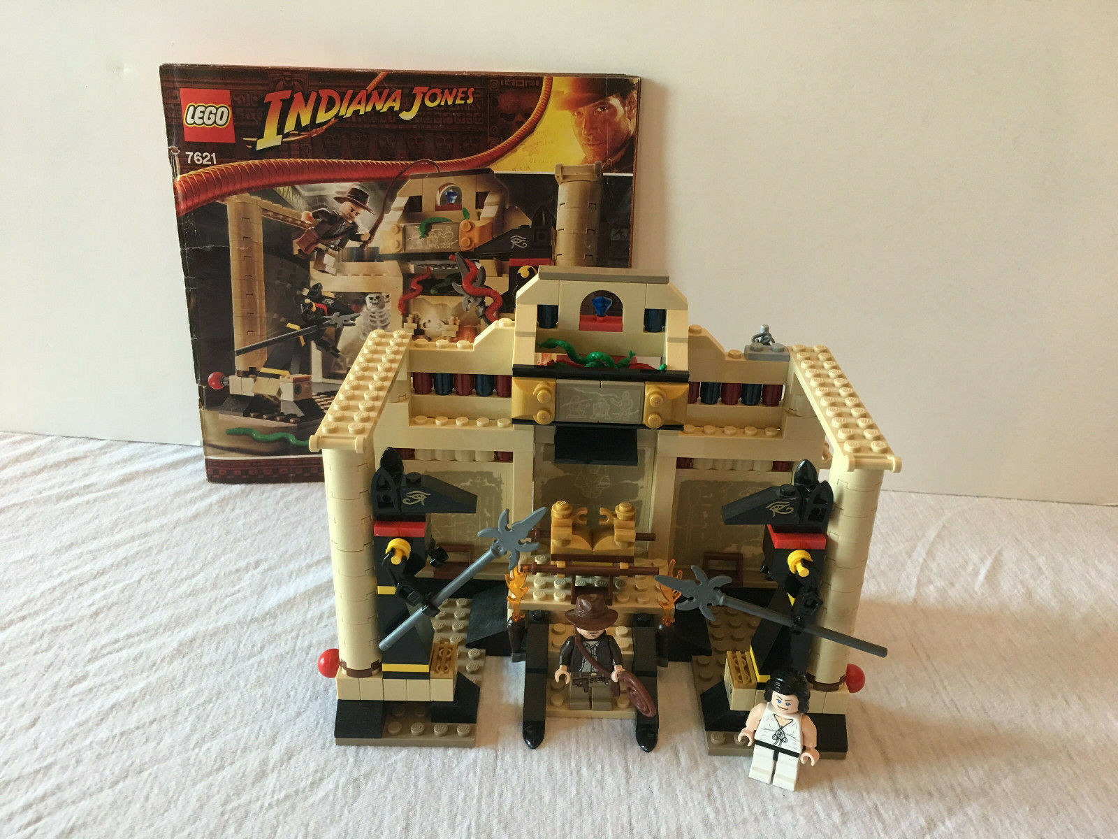 Lost Tomb INDIANA JONES LEGO 7621 INSTRUCTION MANUAL ONLY