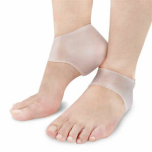 8908be4bb063 Image is loading 1-Pair-Silicone-Gel-Heel-Protector-Plantar-Fasciitis-