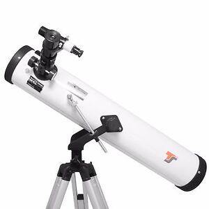 Einsteiger Teleskop 76/700 mm Komplettset + Buch, Starscope767 + Teleskop1x1