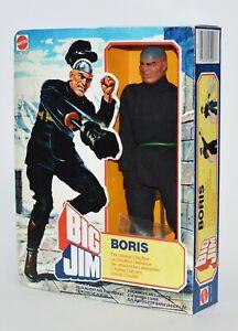 BIG JIM ☆ BORIS L'AUTISTA DIABOLICO☆'82 #5097- EUROPA - ►NEW◄ REPROBOX2 HANDMADE