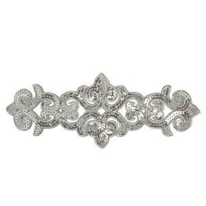 Silver-Applique-Sequin-Iron-On-81-Aust-Seller-Tutu-Dance-Stage-Costume