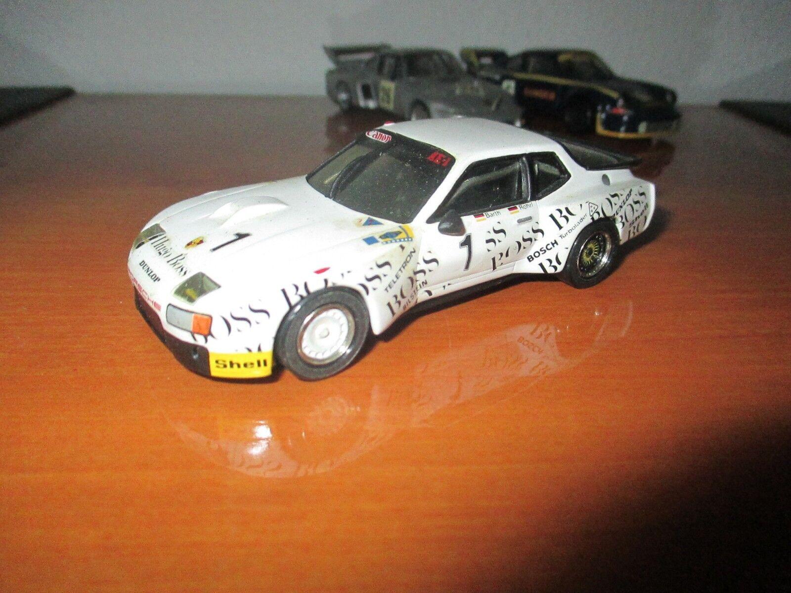 Kit monté TIM WIZARD PORSCHE 924 CARRERA GT BOSS LE MANS 81  ECHELLE 1  43