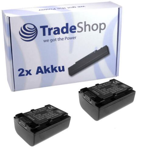 Batería 2x para sony hdr cx350ve cx130 cx130e cx130eb cx130er cx130es