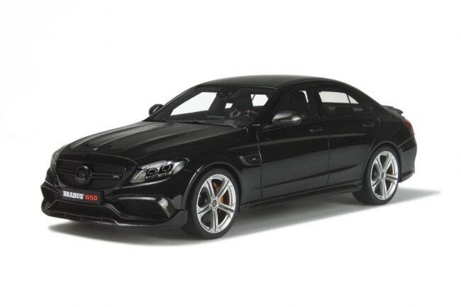 Mercedes bemz c Brabus 650 tuning Limousine nero gt132 nuevo New GT Spirit 1 18